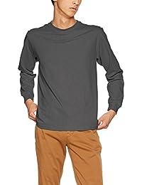 [ヘインズ] ビーフィー ロングスリーブ Tシャツ ロンT 長袖 BEEFY-T 1枚組 綿100% 肉厚生地 H5186 メンズ