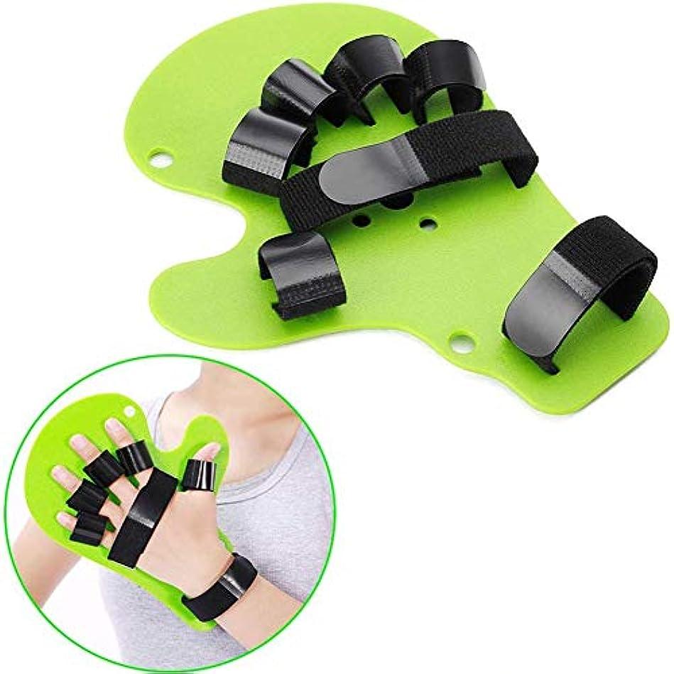 回転させるタンザニアオーチャードフィンガースプリントフィンガーボードフィンガーセパレーター,セパレータを指、ポイントの手の手首のトレーニング装具デバイスブレースサポートフレックス攣縮拡張ボード(フィット右または左の手)