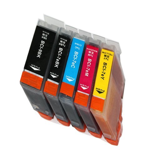 MP600 インク キャノン プリンター PIXUS BCI-7e+BCI-9BK 5色 Canon キャノンBCI-7e/9 互換インクカートリッジ ピクサス