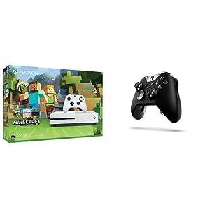 Xbox One S 500GB Minecraft 同梱版 (ZQ9-00068) + Xbox Elite ワイヤレス コントローラー