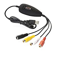 Koolertron  USB接続ビデオキャプチャー 大切なビデオテープをDVDに保存!!
