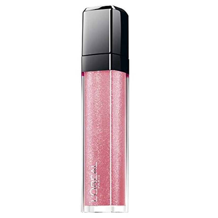 ラベルまどろみのあるやる(505 Never Let Me Go) - L'Oreal Paris Infallible Lip Gloss 505 Never Let Me Go