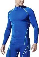 (テスラ)TESLA 長袖 ハイネック スポーツシャツ [UVカット・吸汗速乾] コンプレッションウェア パワーストレッチ アンダーウェア T11 / T12 / MUT72