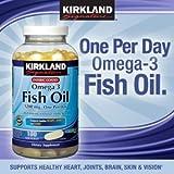 カークランド フィッシュオイル オメガ3 コンセントレイト 1200 mg 180ソフトカプセル 海外直送品