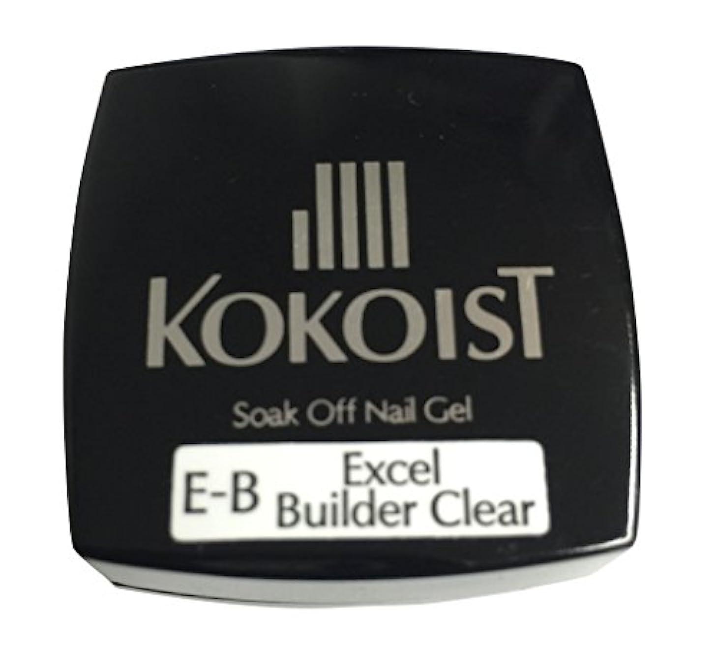 フルーティーむき出しカートンKOKOIST(ココイスト) ソークオフクリアジェル エクセルビルダー  4g