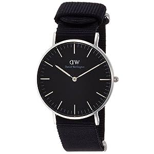 [ダニエル・ウェリントン]DanielWellington 腕時計 Classic Black Cornwall ブラック文字盤 DW00100151 【並行輸入品】