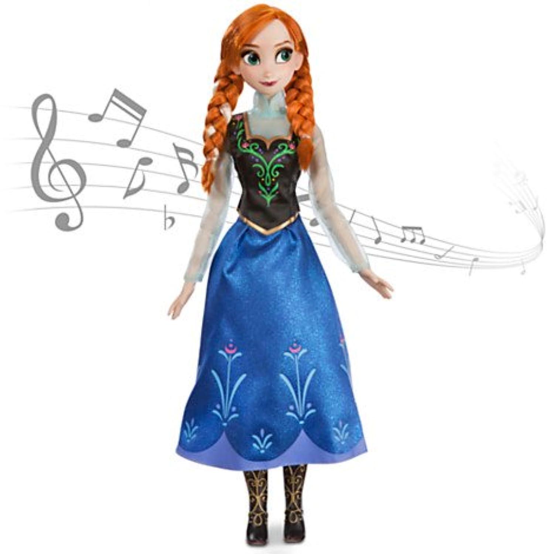 Disney USディズニー公式アナと雪の女王 frozen フローズンシンギングドール 歌う人形【英語】 グッズ[並行輸入品]