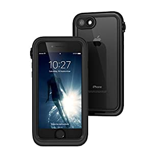 catalyst iPhone 7 完全防水 / 防塵 / 耐衝撃 ケース ブラック 【日本正規代理店品】 CT-WPIP164-BK