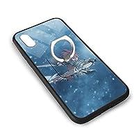 最強の狂人 アップルX/XSガラス電話ケース+角かっこバックシェルアップルIPhone X/XS保護振動ユニセックス