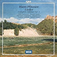 Lieder: Complete Edition 1 by PFITZNER (1999-05-11)
