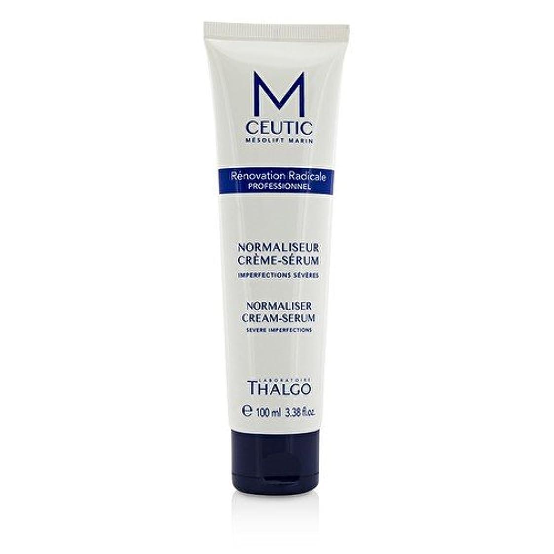 大砲シャーク砦タルゴ MCEUTIC Normalizer Cream-Serum - Salon Size 100ml/3.38oz並行輸入品