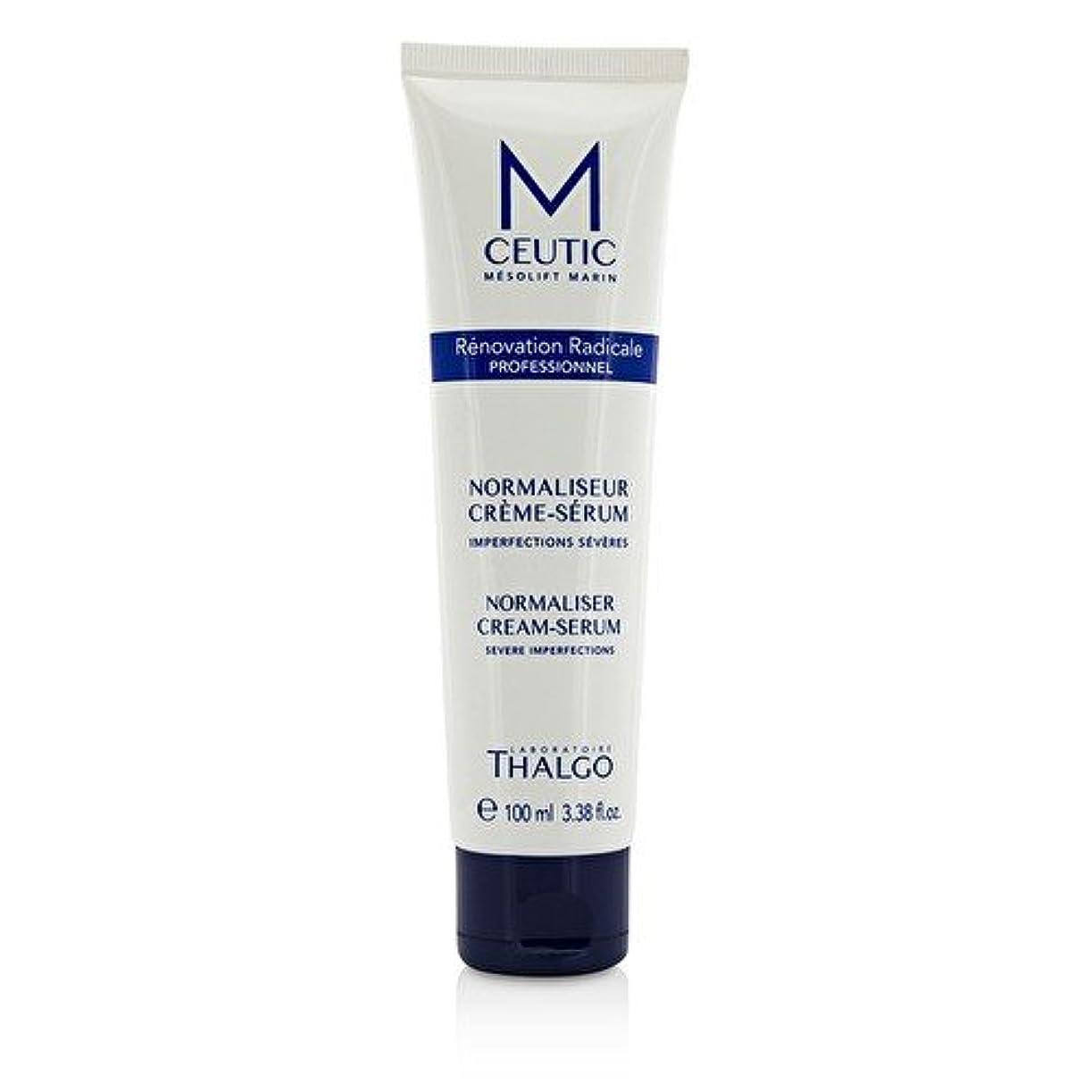 ひねりシロナガスクジラ一貫性のないタルゴ MCEUTIC Normalizer Cream-Serum - Salon Size 100ml/3.38oz並行輸入品