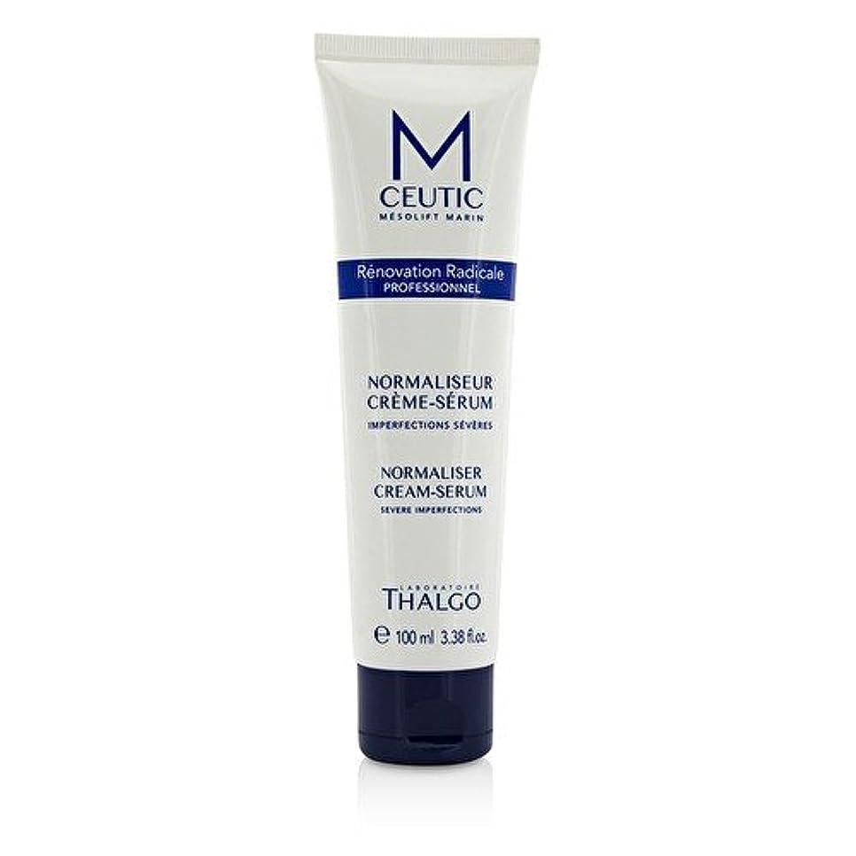 ドナー葬儀外交官タルゴ MCEUTIC Normalizer Cream-Serum - Salon Size 100ml/3.38oz並行輸入品