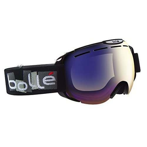 Bolle Scream II Ski Goggles, Shiny Black [並行輸入品]