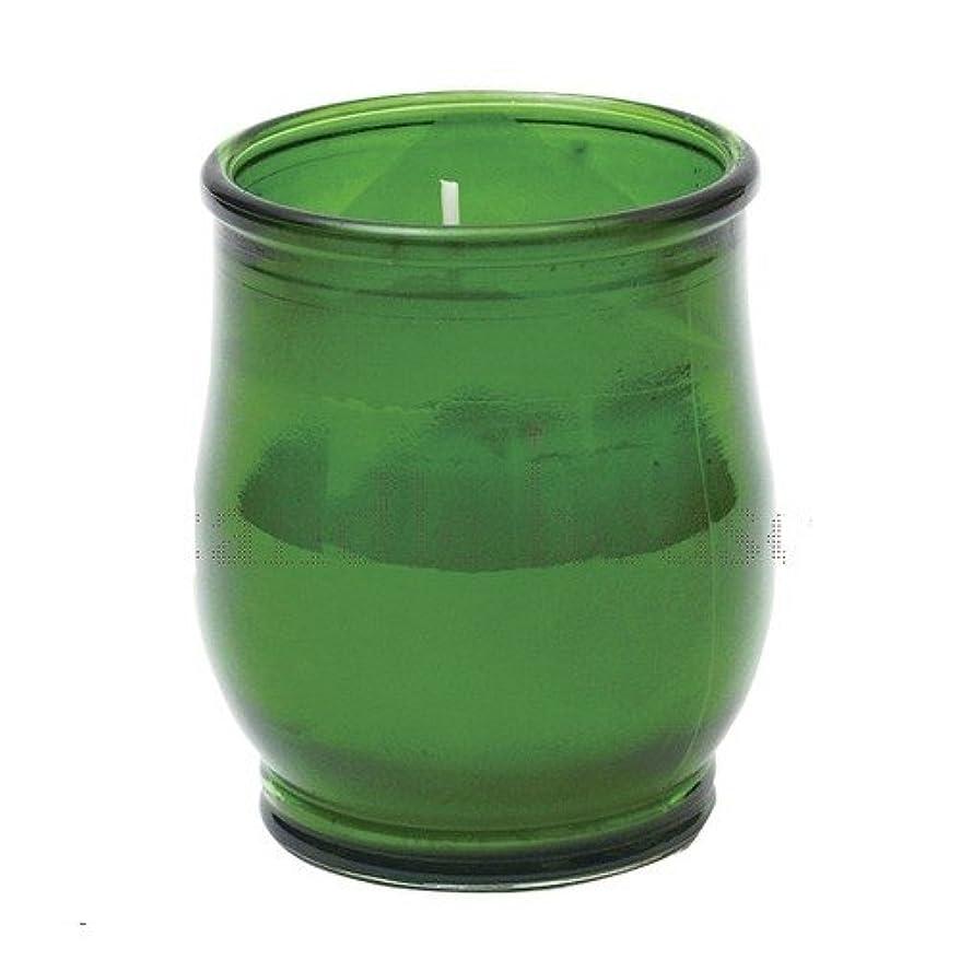 干し草注入するドライバポシェ(非常用コップローソク) 「 グリーン 」