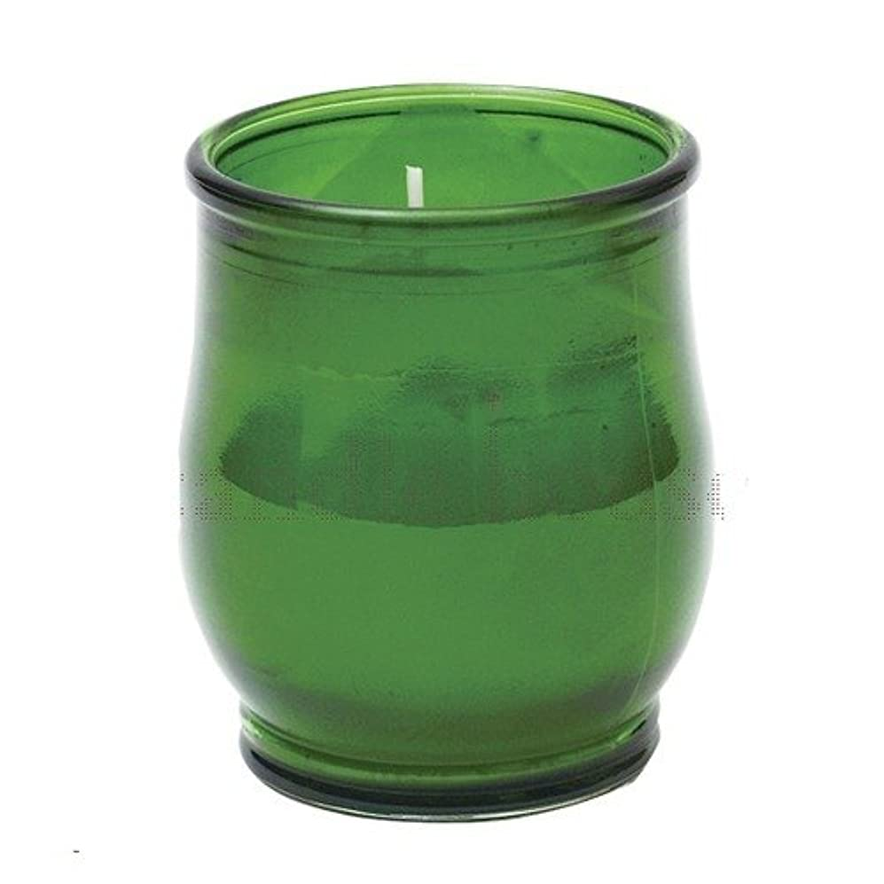 シャンプー大腿崇拝するポシェ(非常用コップローソク) 「 グリーン 」