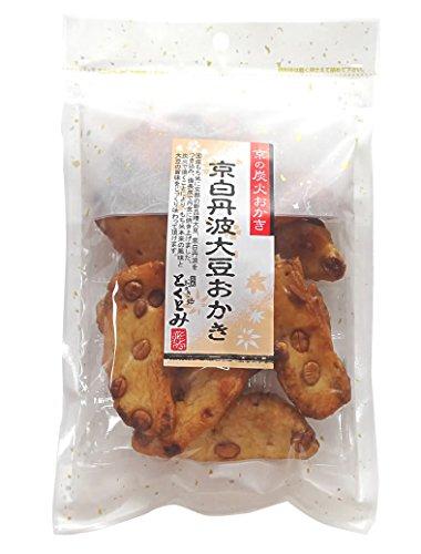 【京都・とくとみ】京の炭火おかき・京白丹波大豆おかき(無添加・無着色料・化学調味料不使用)