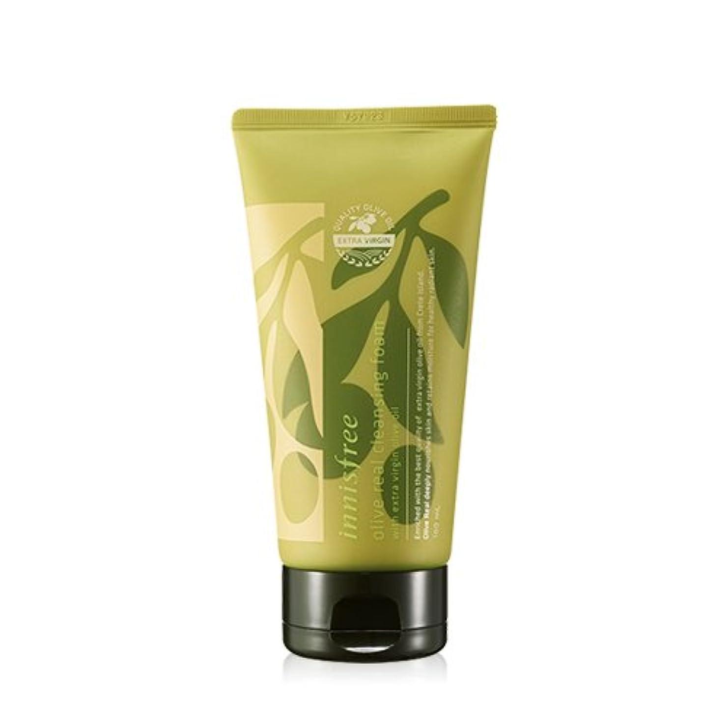 見て後ろ、背後、背面(部寂しい(3 Pack) INNISFREE Olive Real Cleansing Foam 150ml (並行輸入品)