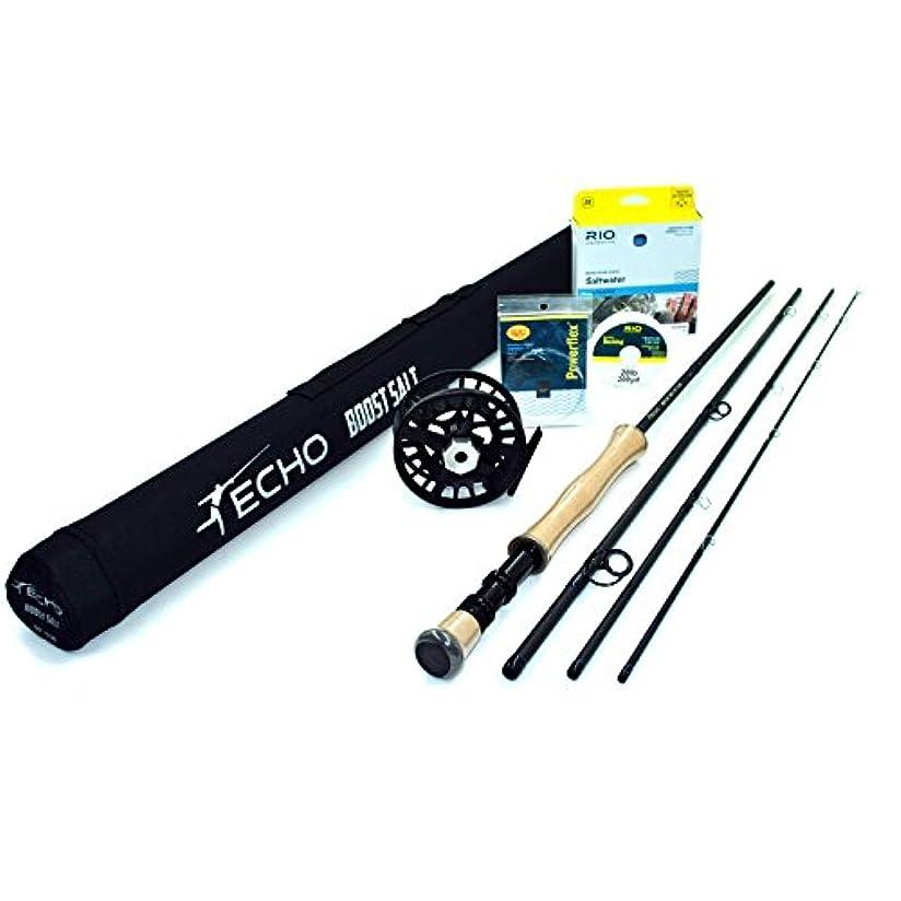 ドール噴水破裂Rajeff Sports Echo Boost 1090-4 フライロッドアウトフィット (10wt、9'0、4pc)