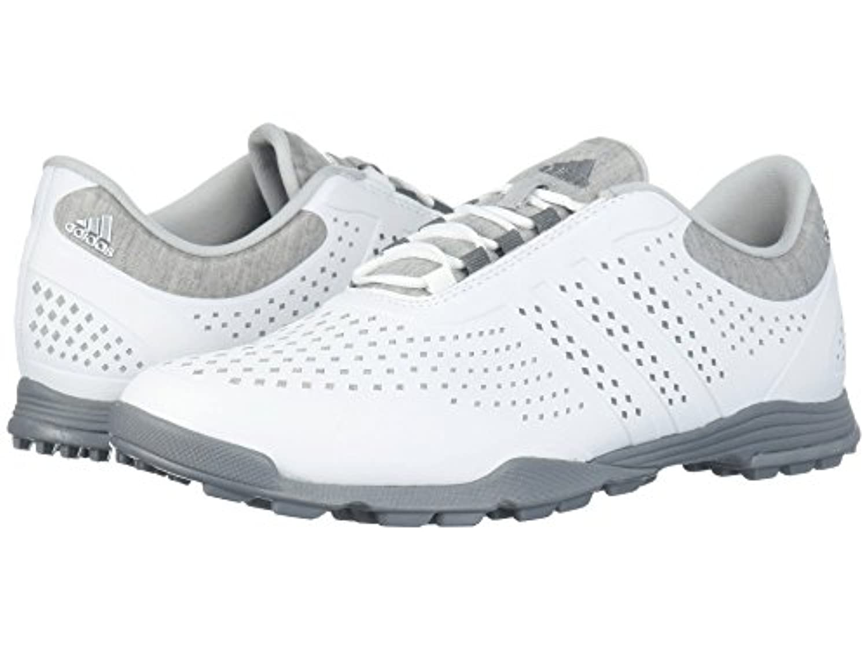 (アディダス) adidas レディースゴルフシューズ?靴 Adipure Sport Footwear White/Grey Three/Grey Two 6 (23cm) B - Medium