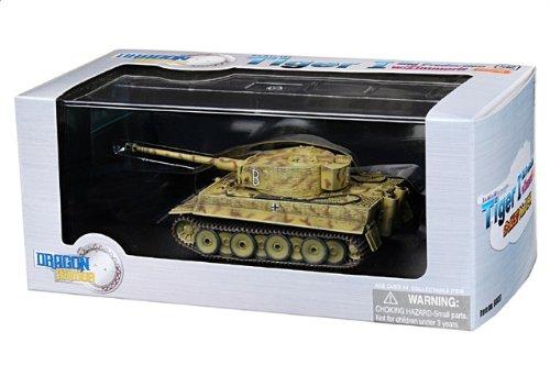 1:72 ドラゴンモデルズ アーマー コレクター シリーズ 60417 Henschel Sd.Kfz.181 Tiger ディスプレイ モデル ドイツ軍 sPzAbt 507 #B Poland 1