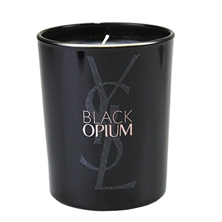慈善対処するそのような(イヴ サンローラン) Yves saint Laurent アロマキャンドル パリジェンヌ BLACK OPIUM 化粧 メイク コスメ ロゴ 黒 ブラック フルーティー フローラル コーヒー ジャスミンティーペタル