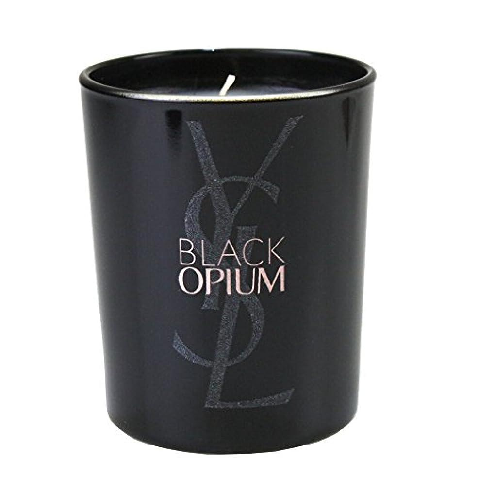 ダンプ衛星ひねくれた(イヴ サンローラン) Yves saint Laurent アロマキャンドル パリジェンヌ BLACK OPIUM 化粧 メイク コスメ ロゴ 黒 ブラック フルーティー フローラル コーヒー ジャスミンティーペタル
