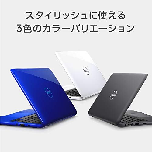 『Dell ノートパソコン Inspiron 11 3180 AMD-A6 Windows10/11.6インチHD/4GB/32GB/eMMC/グレー/18Q11G』の3枚目の画像