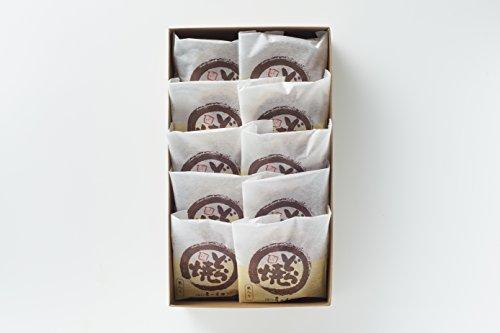 ≪高級和菓子≫【彦一本舗】創業明治29年の九州老舗のお菓子屋 自慢の餡を使った 栗入り どらやき 10個入り どら焼き