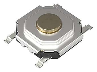 アルプス電気(ALPS) 表面実装タイプタクトスイッチ(R) 5.2mm角薄型タイプ(表面実装) SKQGシリーズ 【SKQGAFE010】 20個入
