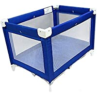 LA Baby Commercial Grade 30.5 X 43.5 Playard, Royal Blue (Discontinued by Manufacturer) by LA Baby