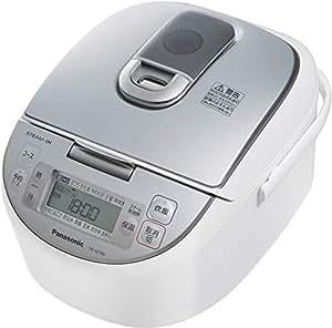パナソニック 5.5合 炊飯器 IH式 ダイヤモンド竈釜 ホワイト SR-SZ100-W