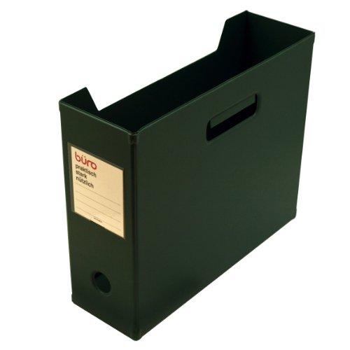 ビュロー ファイルボックス横型【グリーン】 FX12 GR