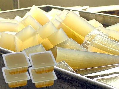 伊豆河童 柿田名水 ところてん 400g ブロック 4パック 約12人前 タレ付き 二杯酢 業務用 リピート