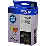 Brother Genuine LC239XLBK High-Yield Ink Cartridge, Black, Page Yield Up to 3000 Pages, (LC239XLBK)