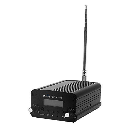 Signstek 7W 7C FMトランスミッター LCD ステレオ アンテナ付き
