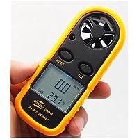 【ななみ】デジタルミニ風速計 アネモメーター 簡単日本語説明付き Wチェック検品+PL保険加入済みですので安心して使用できます。