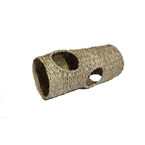 (ローズウッド) Rosewood ペット用 ナチュラルズ ジャンボ ラビット トンネル うさぎ用 (ワンサイズ) (セット)