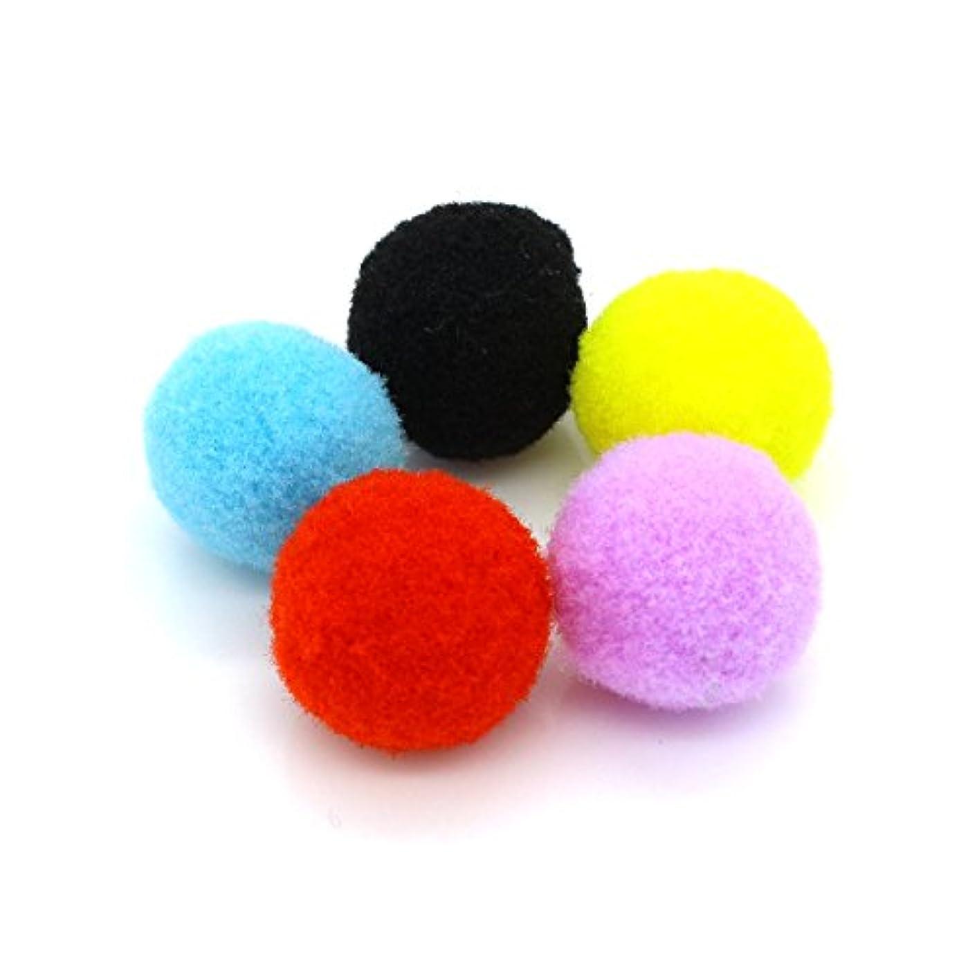 ポケット振り返るパッド50個MixカラーコットンボールAromatherapy Essential Oil Diffuserロケットペンダントネックレス15 mm 20 mm 25 mm