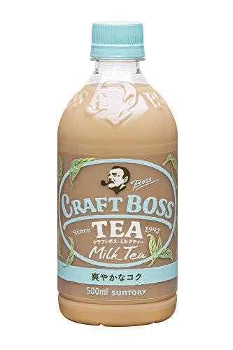 サントリー クラフトボス ミルクティー 紅茶 500ml×24本