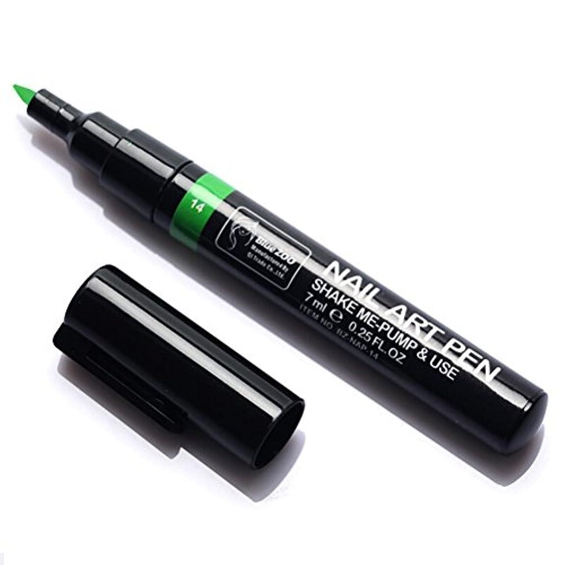 ラベンダー北東ブリリアント(メイクアップエーシーシー) MakeupAcc カラーネイルアートペン 3Dネイルペン ネイルアートペン ネイルマニキュア液 ペイントペン ペイント 両用 DIY 16色 (青い) [並行輸入品]