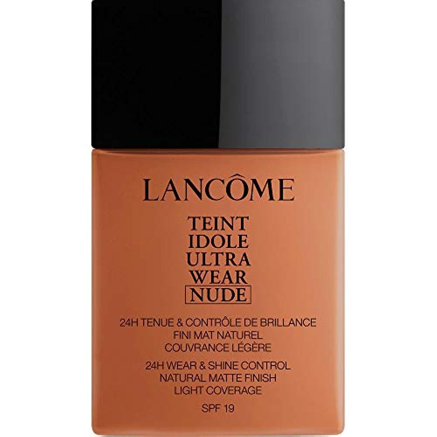 騒ぎ承認元気[Lanc?me ] アカジュー - ランコムTeintのIdoleは、超ヌード基礎Spf19の40ミリリットル10.1を着用します - Lancome Teint Idole Ultra Wear Nude Foundation...