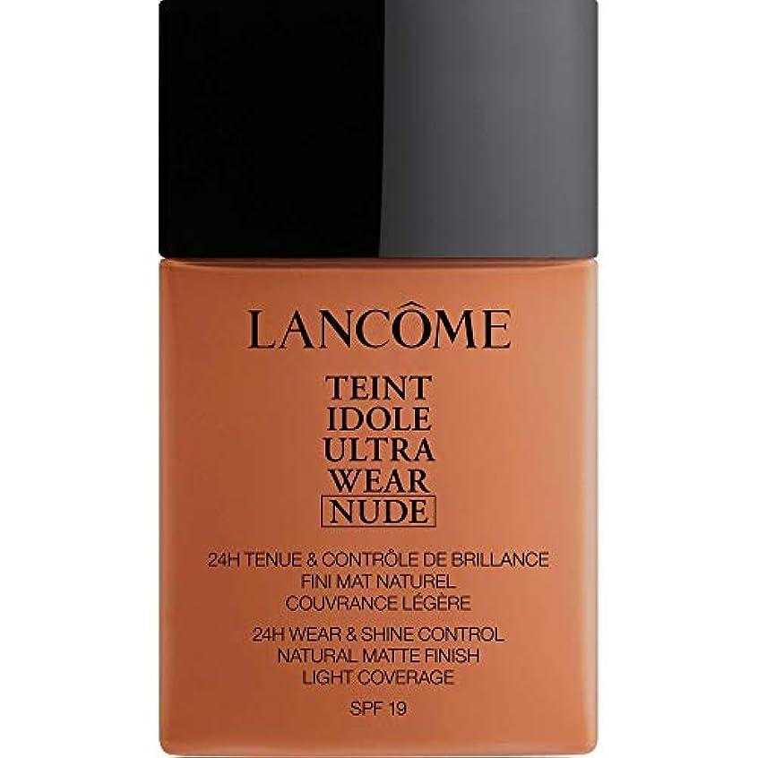 石油バーター印象[Lanc?me ] アカジュー - ランコムTeintのIdoleは、超ヌード基礎Spf19の40ミリリットル10.1を着用します - Lancome Teint Idole Ultra Wear Nude Foundation...