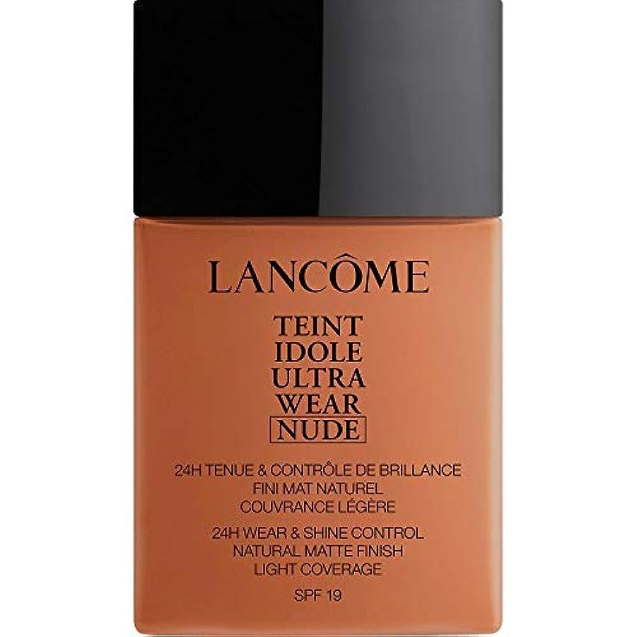 辞書品揃えマーカー[Lanc?me ] アカジュー - ランコムTeintのIdoleは、超ヌード基礎Spf19の40ミリリットル10.1を着用します - Lancome Teint Idole Ultra Wear Nude Foundation...