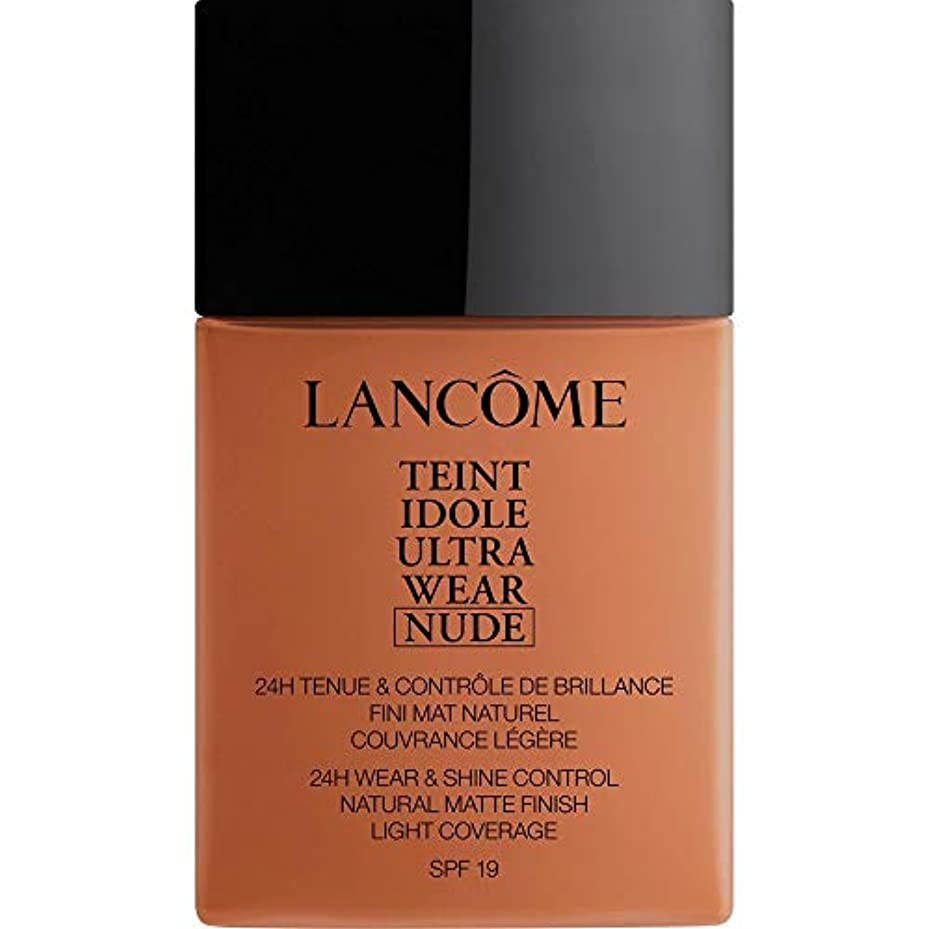 通常形松明[Lanc?me ] アカジュー - ランコムTeintのIdoleは、超ヌード基礎Spf19の40ミリリットル10.1を着用します - Lancome Teint Idole Ultra Wear Nude Foundation...