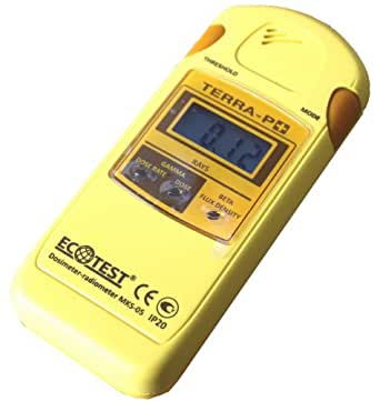 ECOTEST ガイガーカウンター TERRA MKS-05 P+ 放射線測定器