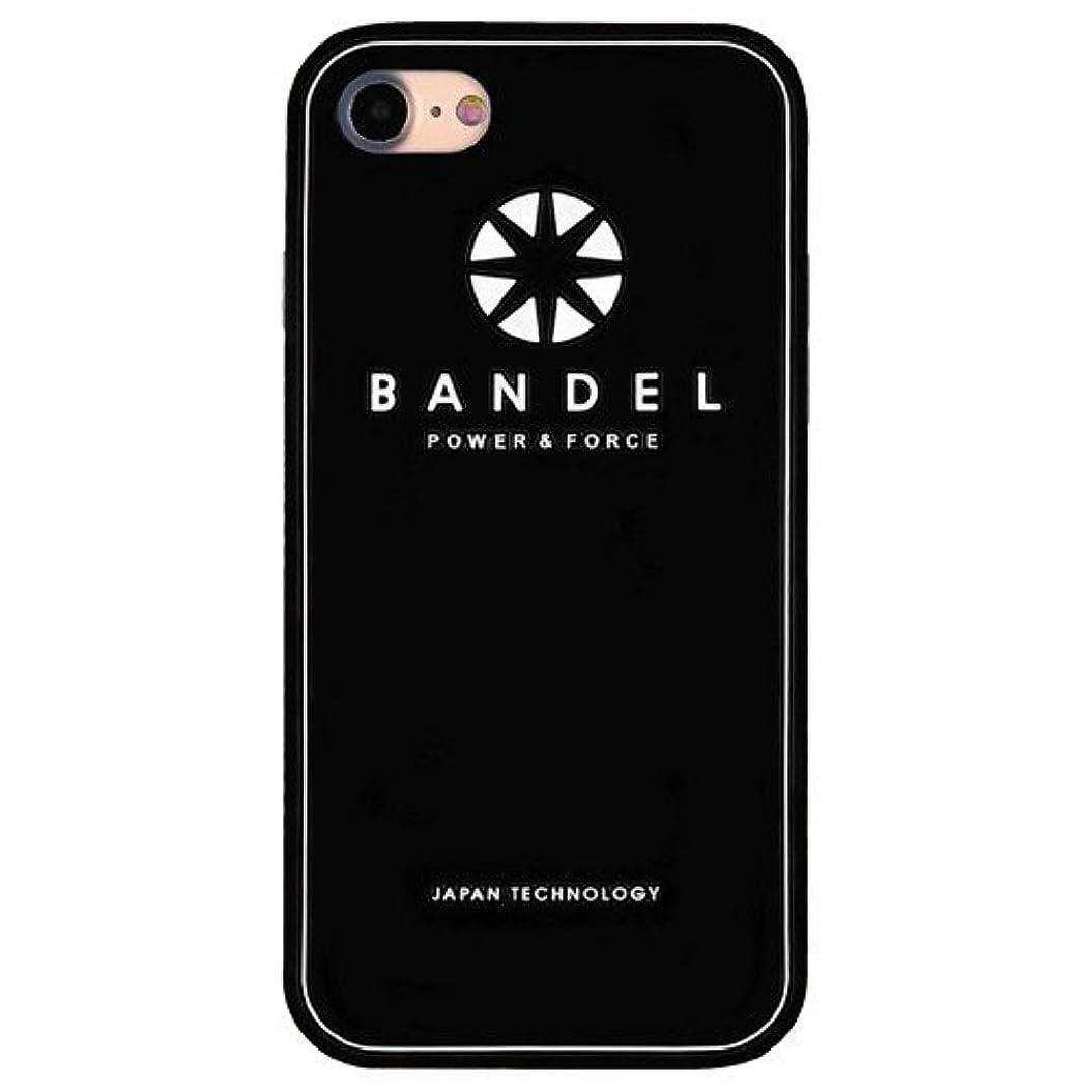 波紋オーラルシーズンバンデル(BANDEL) ロゴ iPhone 7専用 シリコンケース [ブラック]
