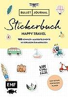 Bullet Journal - Stickerbuch Happy Travel: 750 Schmuck- und Layoutelemente rund um das Thema Reisen: Mit Journal-Tipps, Reise-Inspirationen und 100 Vorlagen zum Abpausen