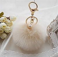 CHASIROMA 携帯ストラップ ファー小物 ふわふわ キーホルダー 鞄 鍵 上品 キーチエーン レディース バレンタインギフト