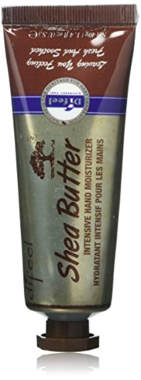 チェリーまもなく教師の日Difeel(ディフィール) シアーバター ナチュラル ハンドクリーム 40g SHEA BUTTER 16SHE New York 【正規輸入品】
